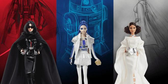 Star Wars x Barbie – Les célèbres poupées se tournent vers le côté obscur!
