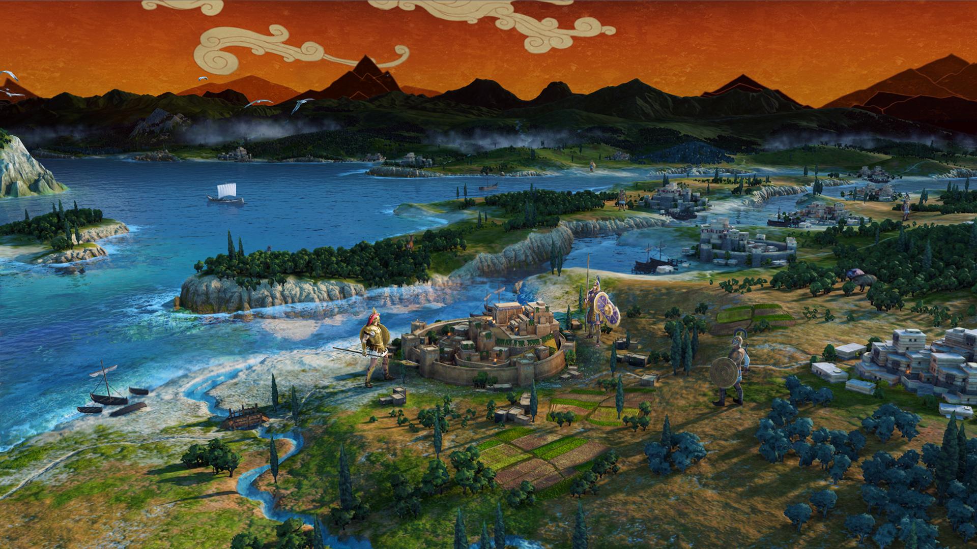 Interface de jeu de Total War: Troy