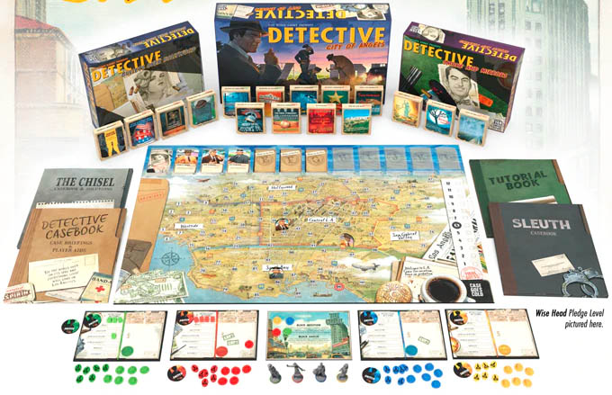 Jeu de société Detective: City of Angels