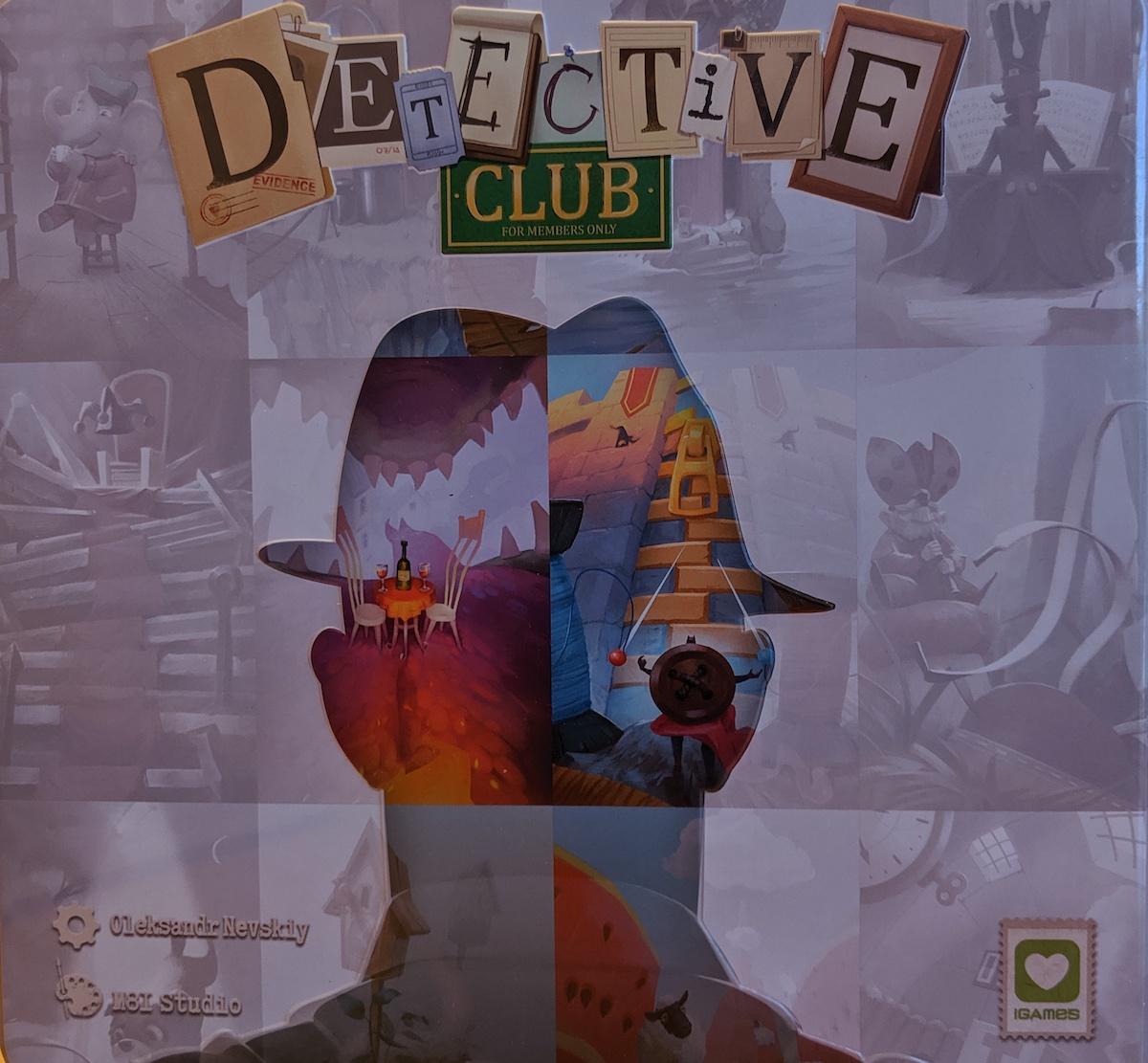 Jeu de société Detective Club - Boite