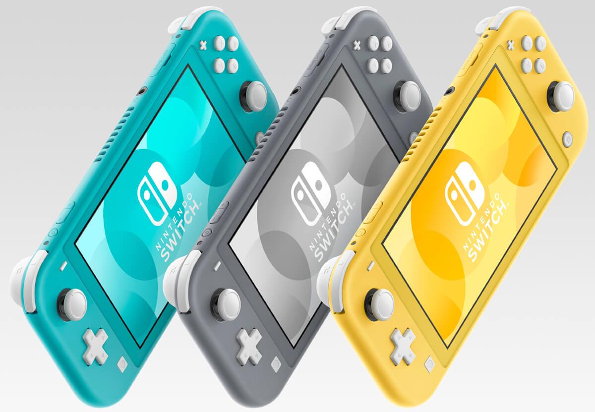 La console sera tout d'abord offerte en trois couleurs, mais d'autres variantes suivront