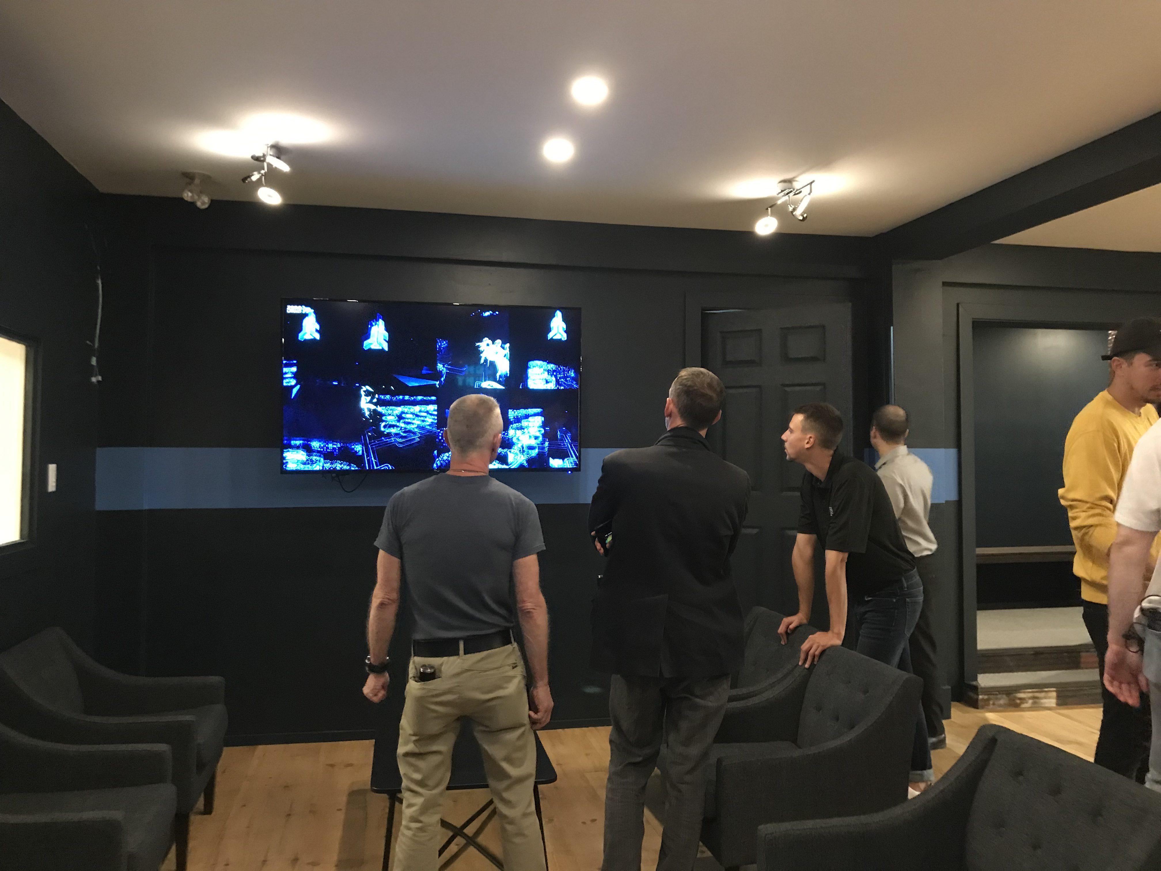 Le lounge de Zéro Latency Montréal