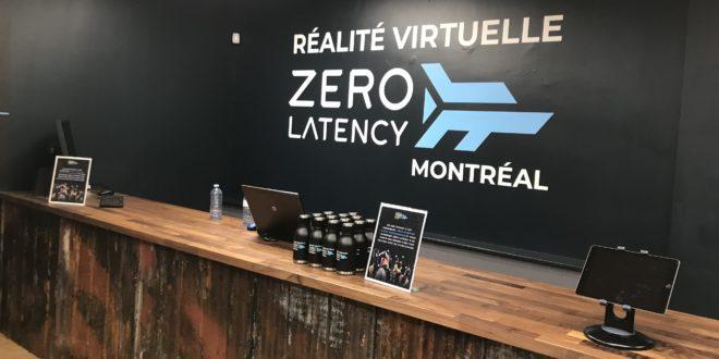 Zéro Latency Montréal: de la réalité virtuelle en immersion parfaite