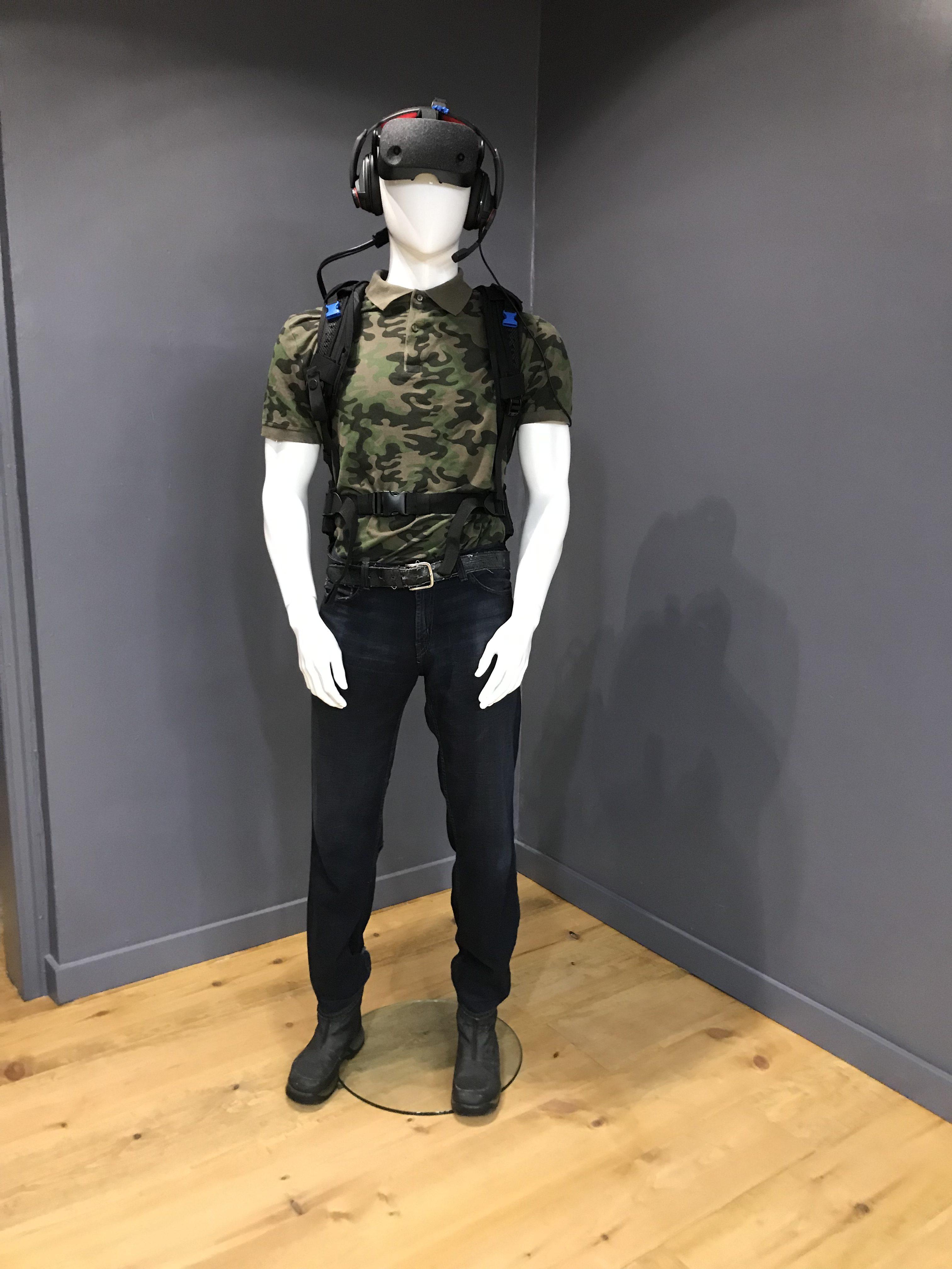 L'équipement fourni par Zéro Latency Montréal
