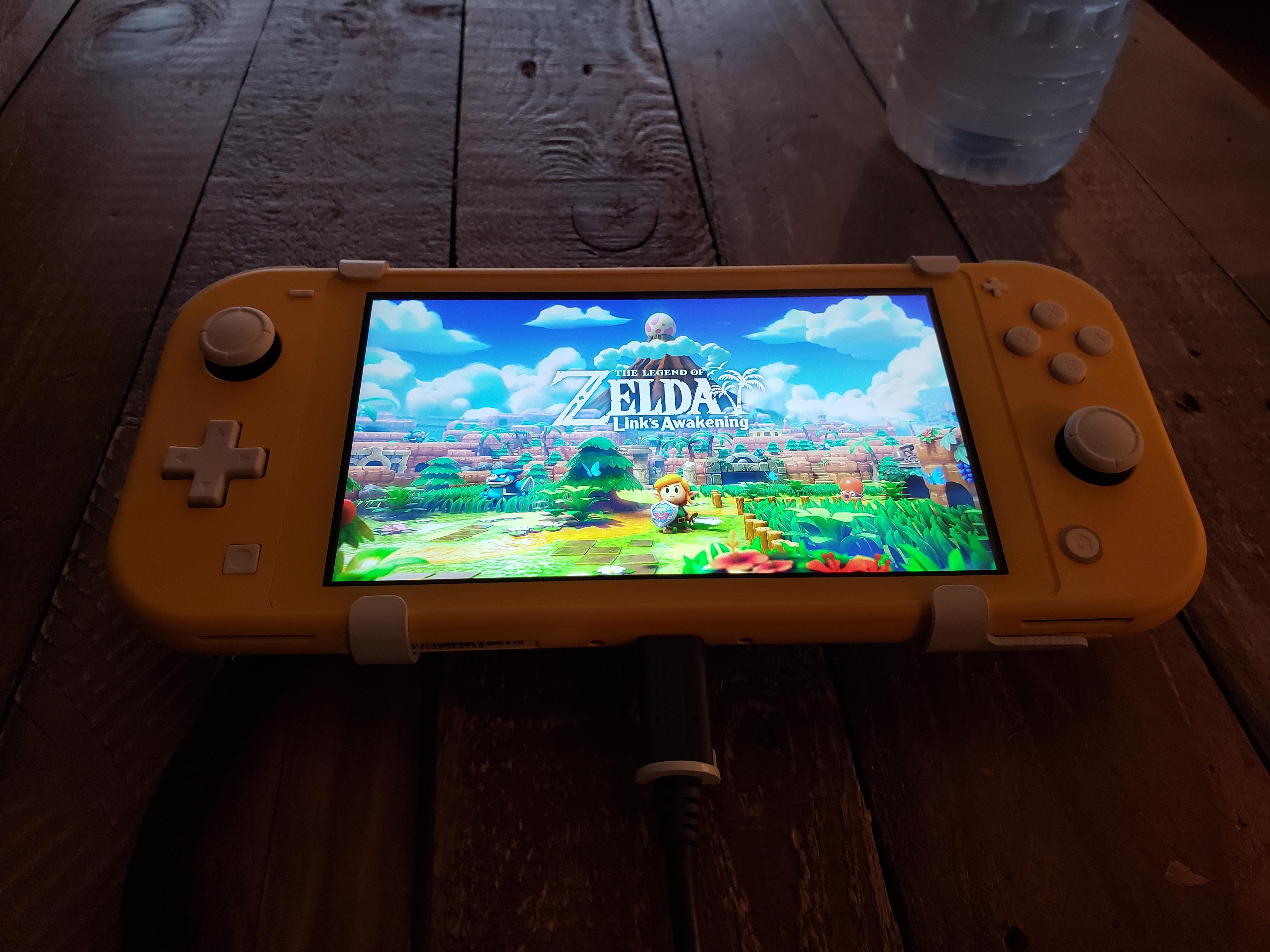 Link's Awakening HD, sorti à l'origine sur la console Gameboy, sortira en même temps que la Switch Lite