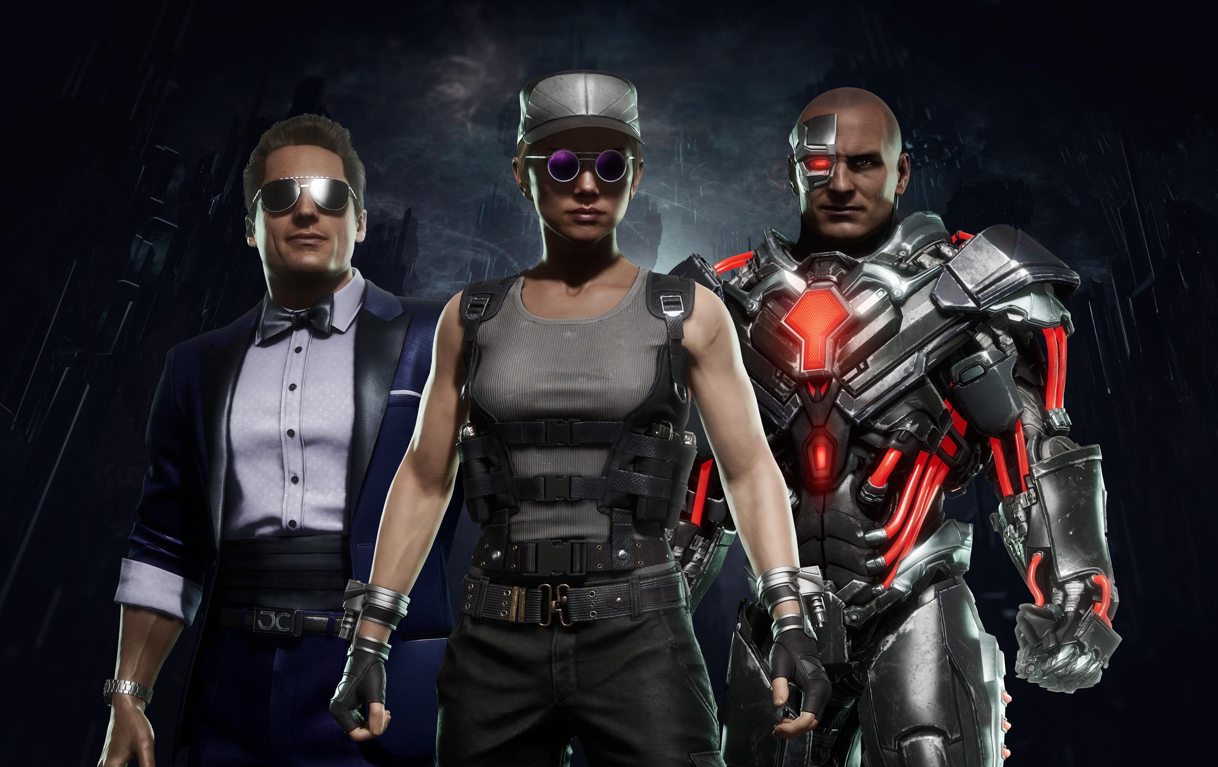 Les nouveaux costumes de Johnny Cage, Sonya Blade et Kano dans MK11