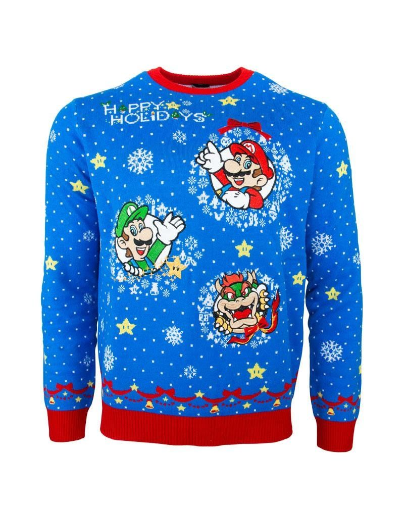 Chandail laid de Mario Bros