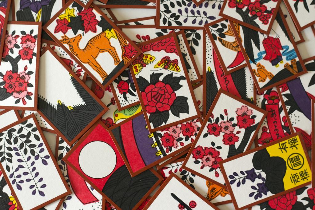 cartes du jeu hanafuda