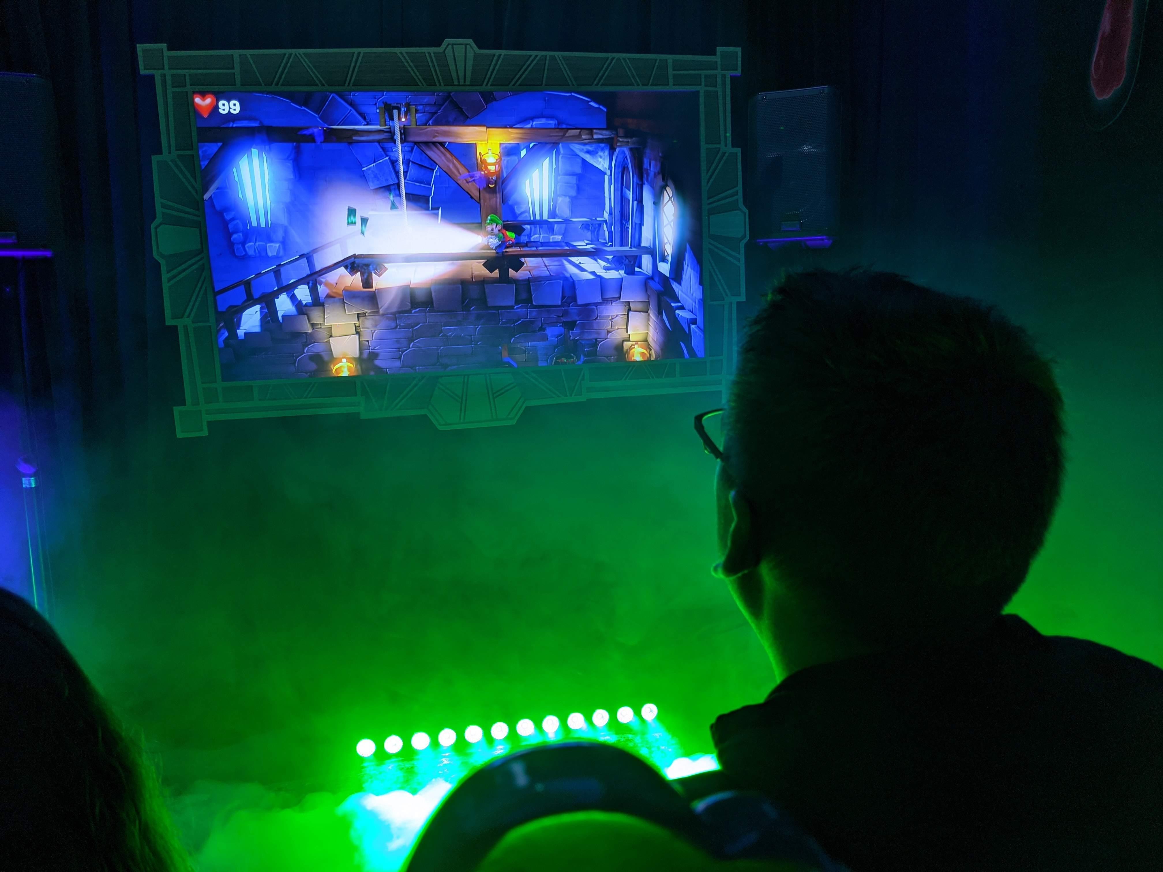 Nous avons bravé nos frayeurs en testant le nouveau Luigi's Mansion 3 à l'événement Terrain de Jeu Nintendo Switch