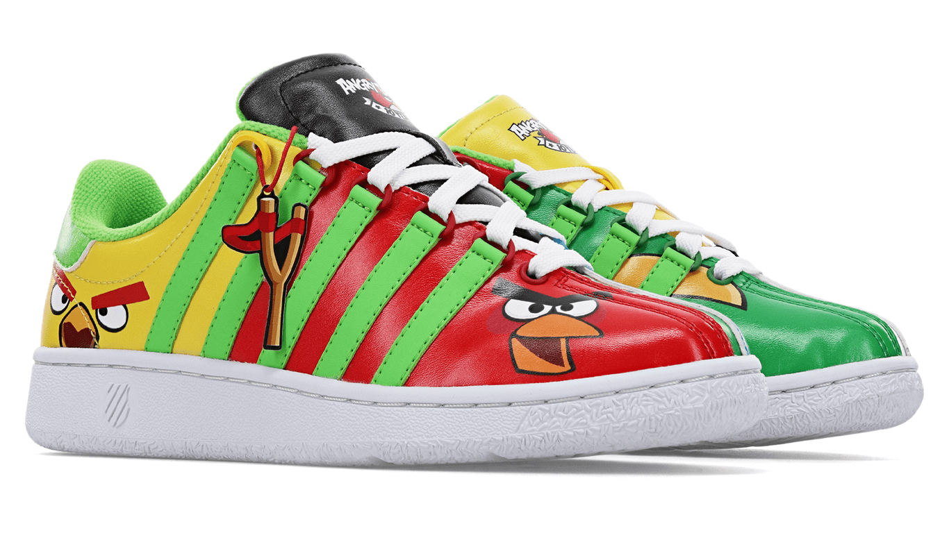 Angry Birds shoe