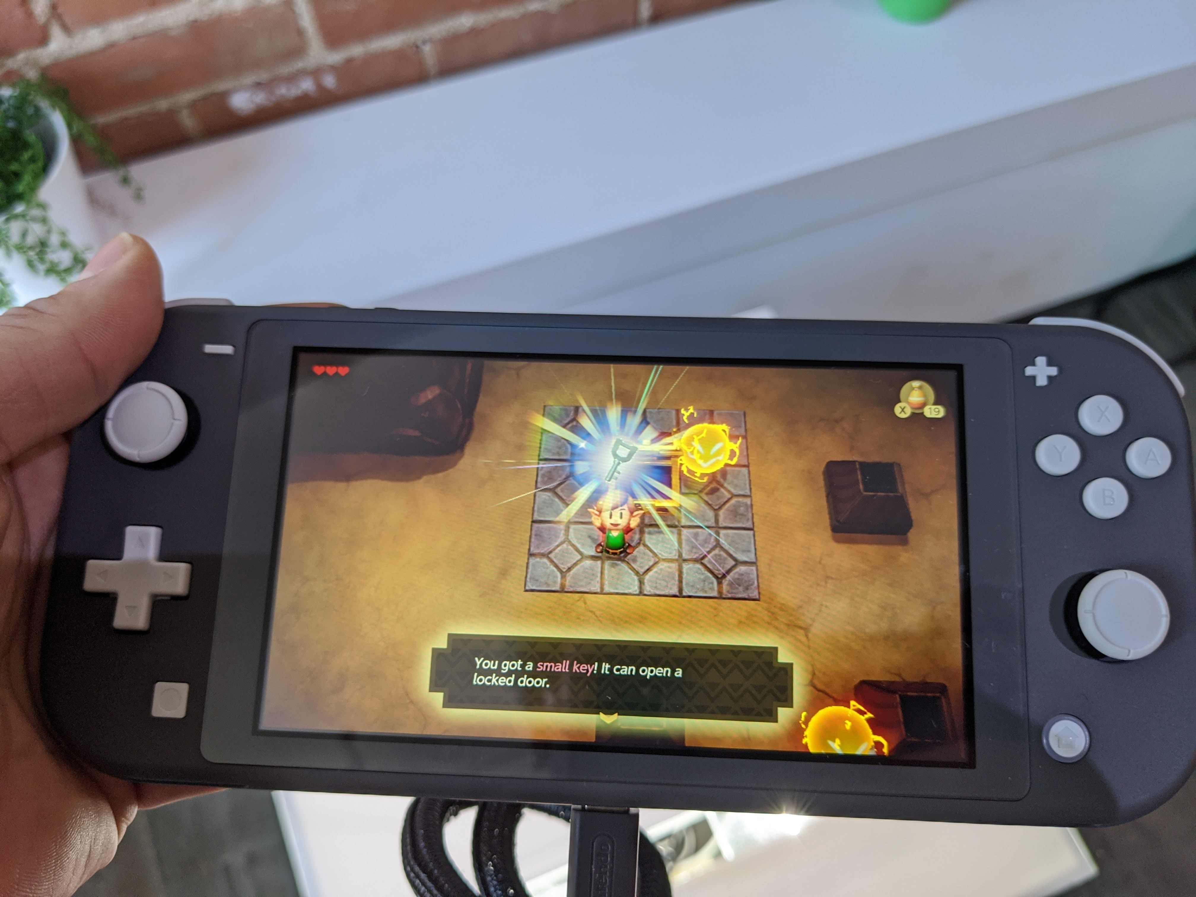 Zelda : Link's Awakening, est une nouvelle version d'un jeu sorti à l'époque sur la console Gameboy