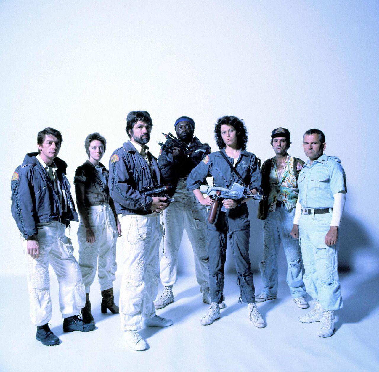 L'équipage du Nostromo est compris de travailleurs, pas des soldats