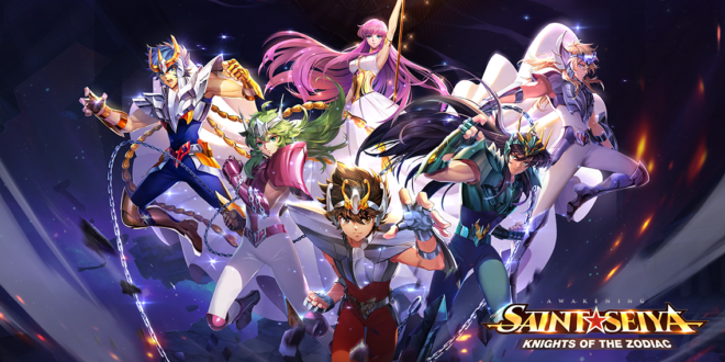 Saint Seiya Awakening : Knights of the Zodiac : brûlez votre cosmo !