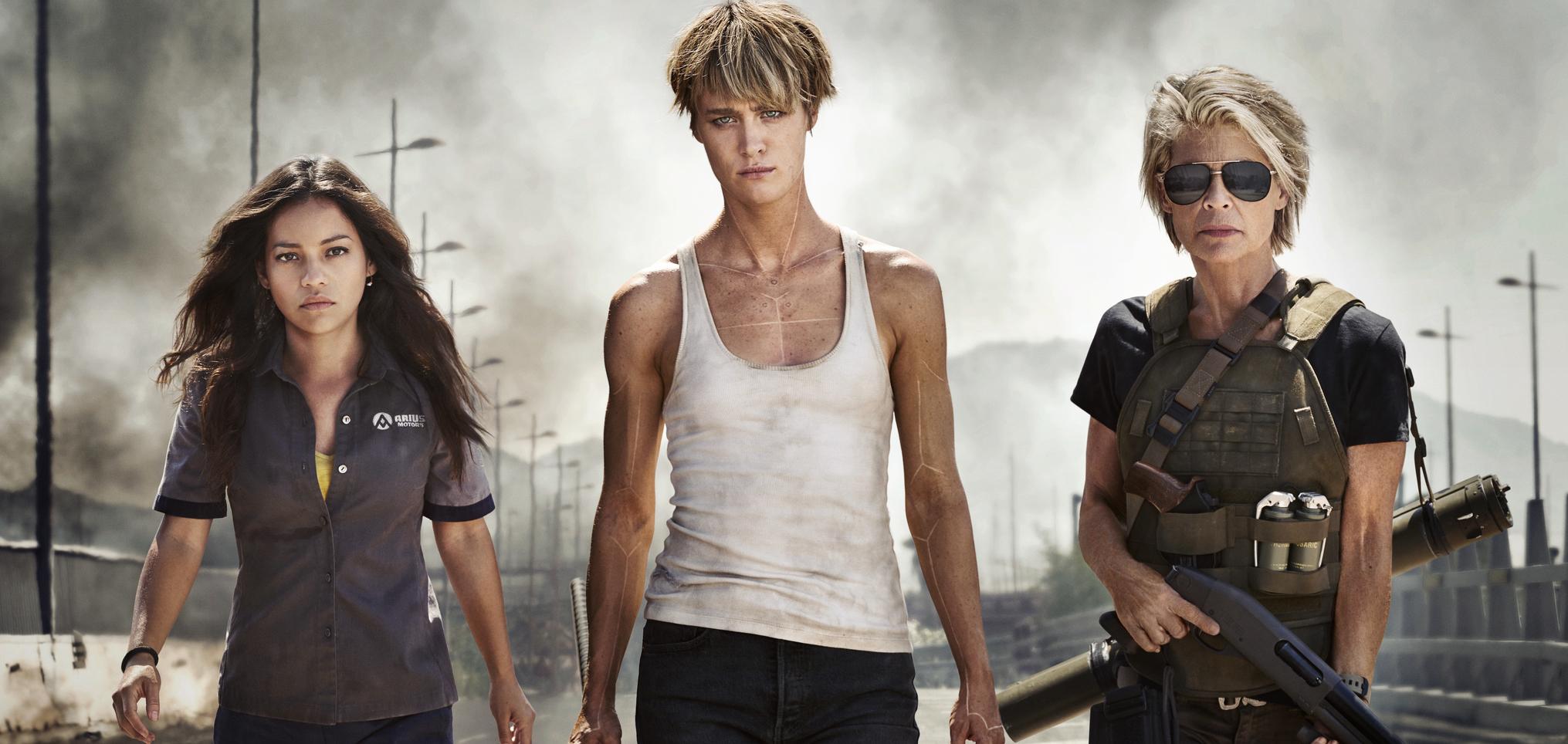 Terminator: Dark Fate femmes