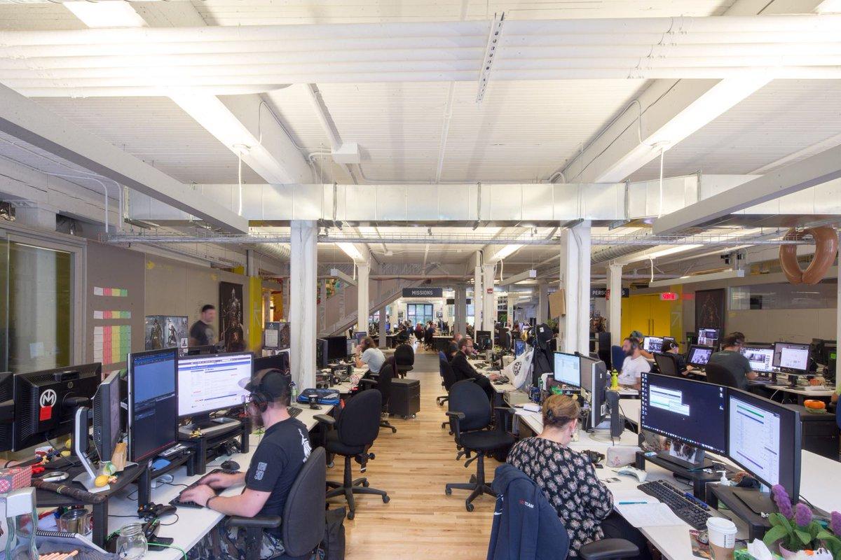Le studio de production montréalais d'Ubisoft est le plus grand de l'éditeur