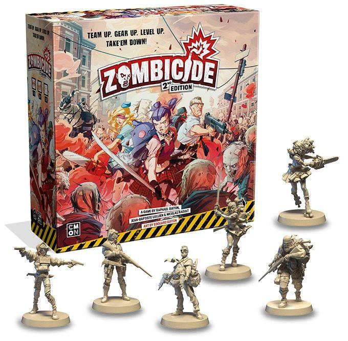 Jeu de société Zombicide: 2nd Edition