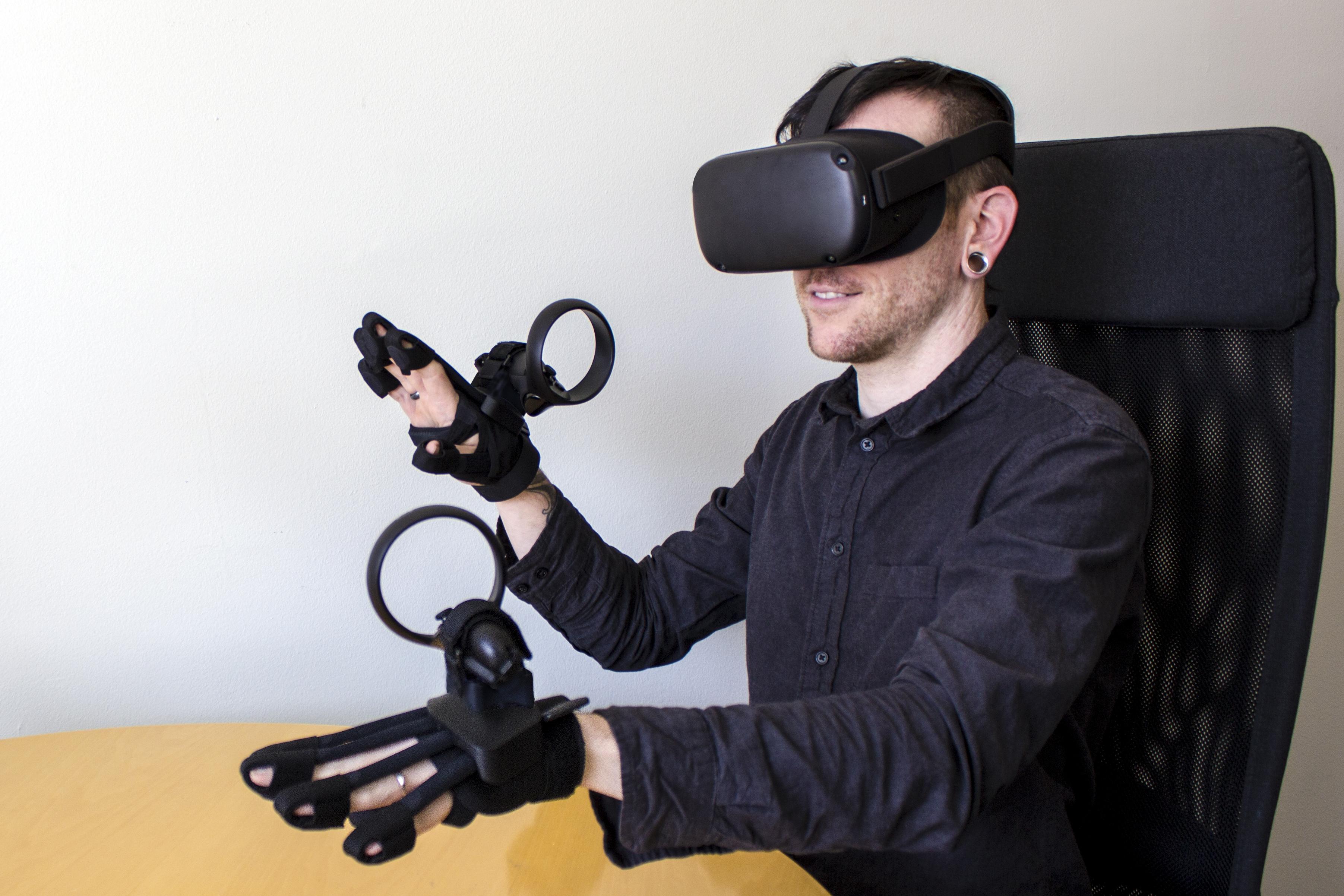 Gants Forte Data Gloves avec Occulus Quest