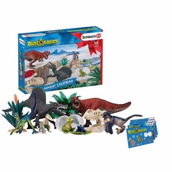 calendrier dinosaures