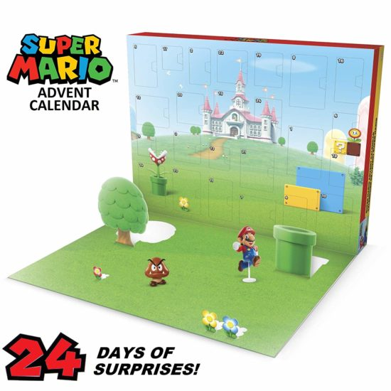 Calendrier Super Mario