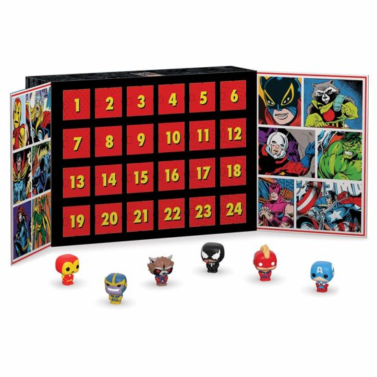 calendrier FunKo Marvel