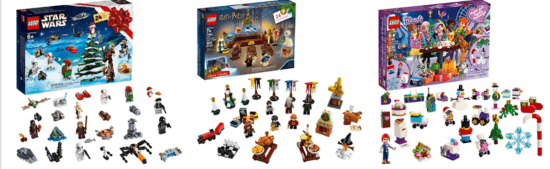 calendriers LEGO