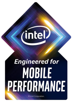 Intel Engineered for mobile performance