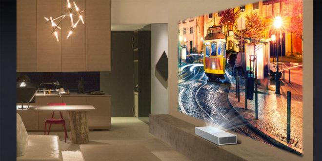 LG Cinebeam Laser 4K – Une projection de haute qualité sans tracas