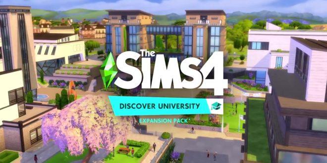 Les Sims 4: À la fac – De retour sur les bancs de l'école
