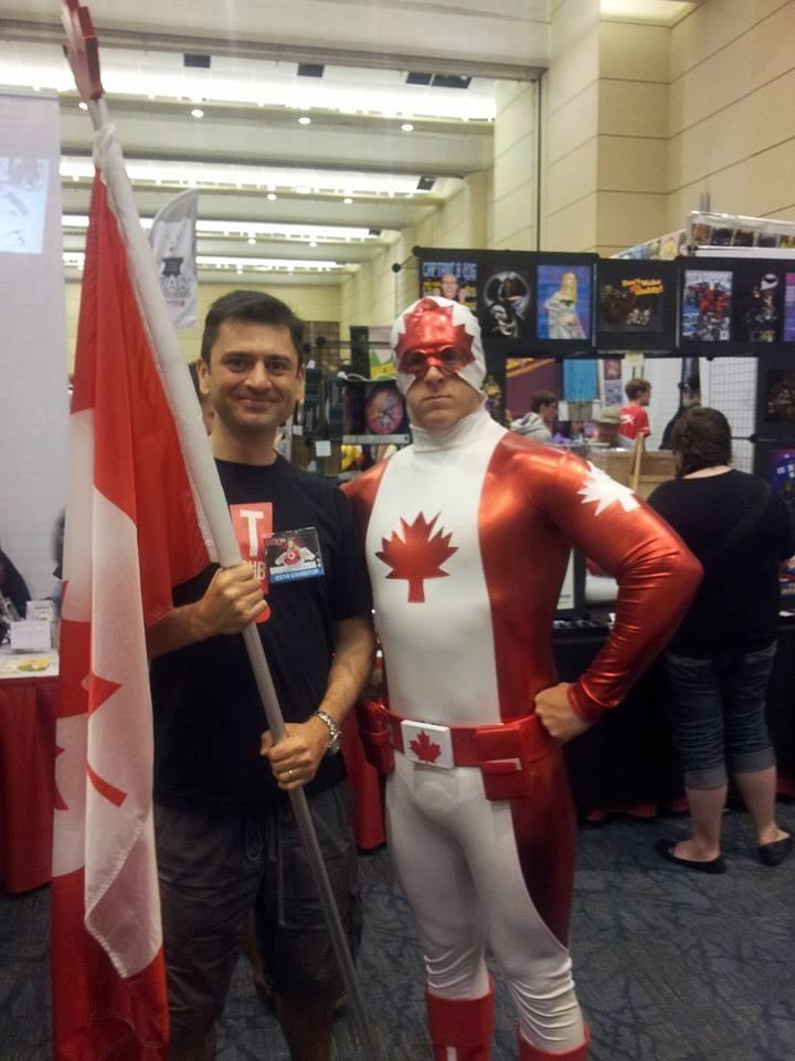 Neil Gibson au Canada