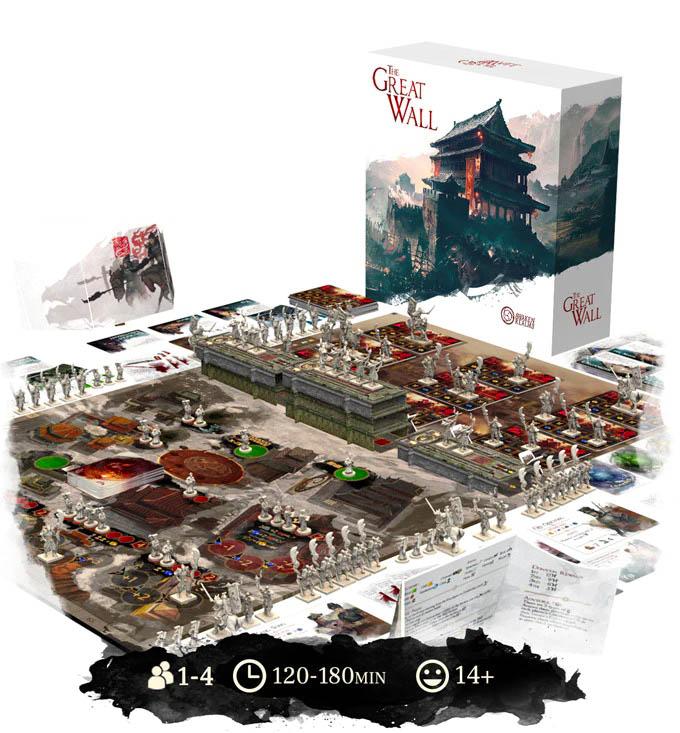 Jeu de société Great Wall