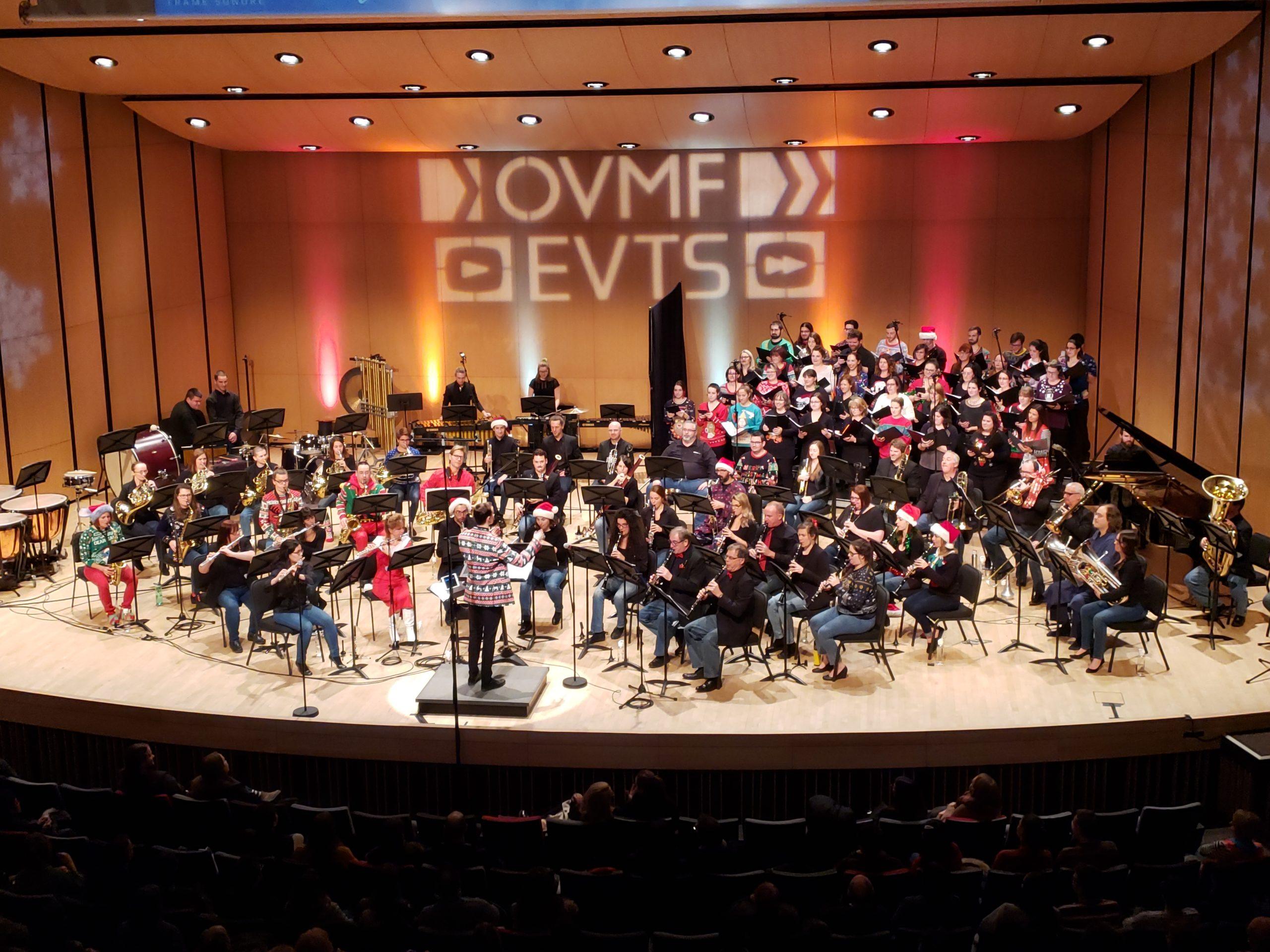 L'OMVF, la chorale et les deux chefs étaient en grande forme pour ce concert!