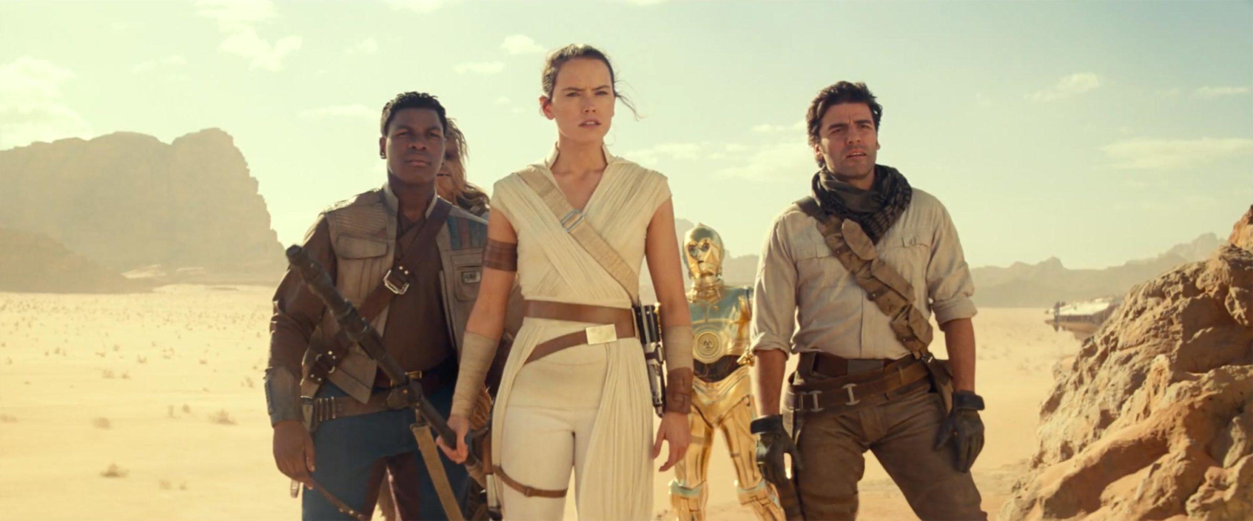 Rey aura à voyager aux confins de la galaxie pour découvrir qui se cache derrière la nouvelle menace pour la Résistance