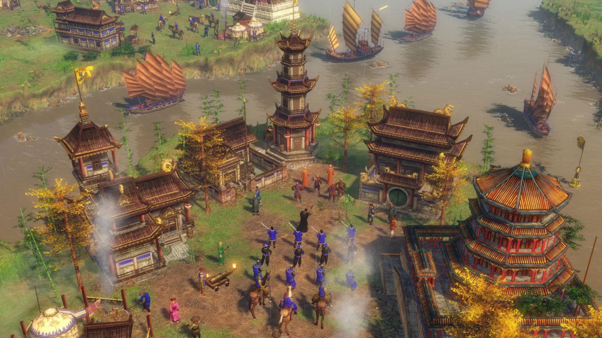 Age of Empires III avait été bien reçu en 2005 et cette nouvelle édition promet d'en mettre plein la vue avec ses graphiques en 4K