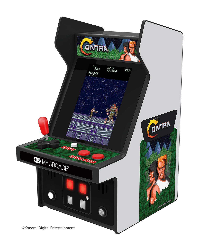 La gamme des Micro Players sera élargie cette année avec l'ajout de Space Invaders et Contra