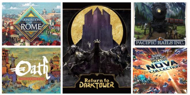Kickstarter – Les jeux de société à surveiller pour la mi-janvier 2020