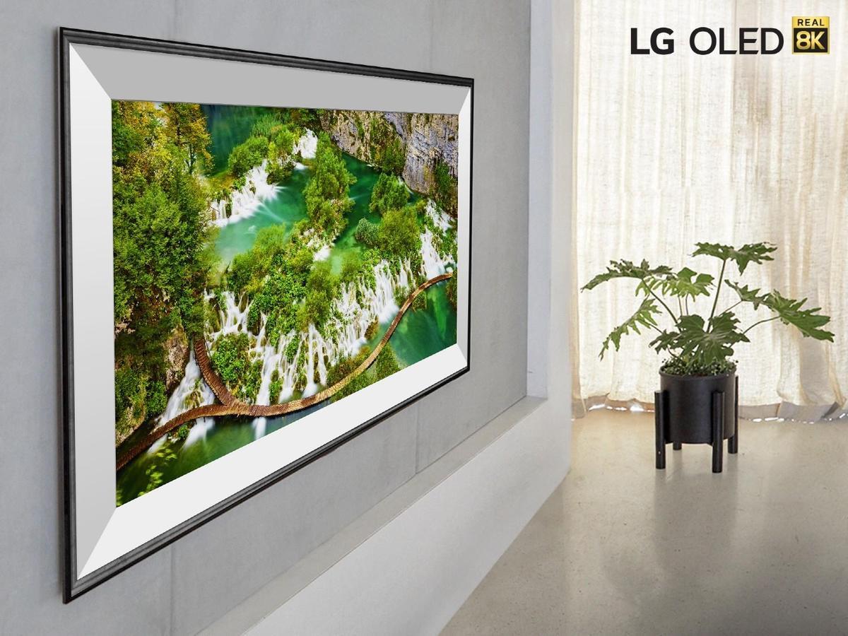 La résolution Ultra HD 8K est mise de l'avant par LG au CES cette année