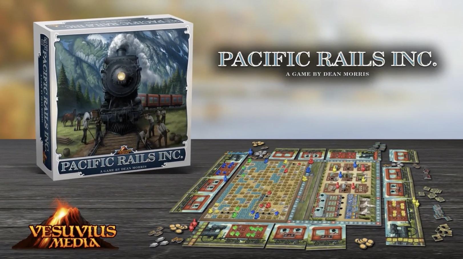 Jeu de société Pacific Rails Inc