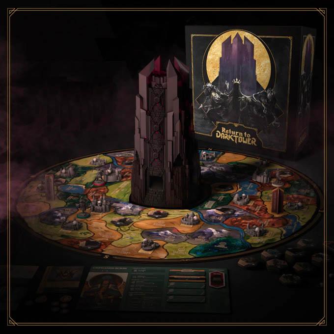 Jeu de société Return to the Dark Tower