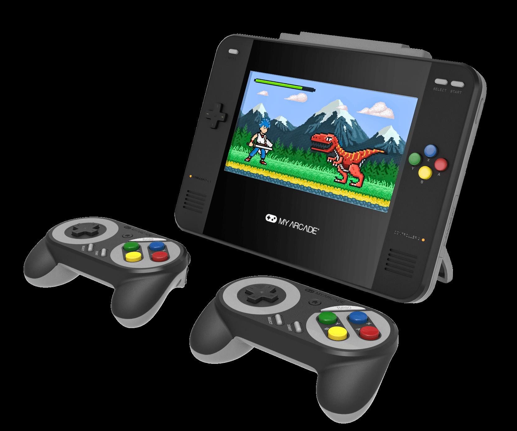 La guerre entre la SEGA Genesis et la SNES est bel et bien terminée avec la sortie de la console Super Retro Champ!