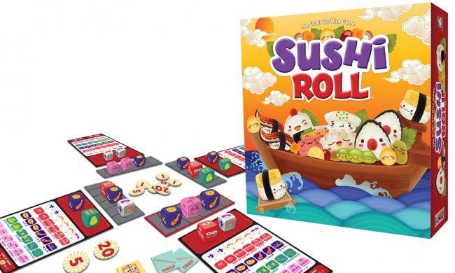 Jeu de société Sushi Roll