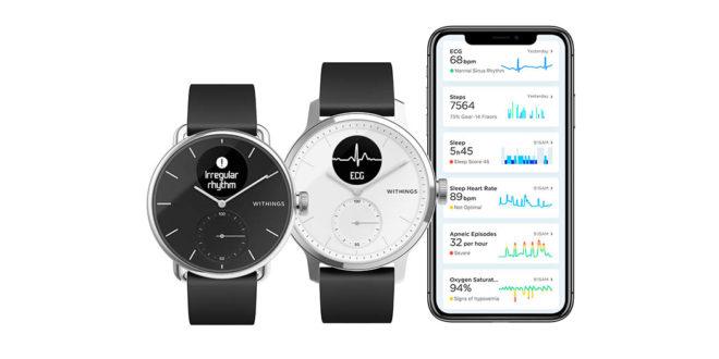 [CES 2020] Withings s'occupe de votre santé avec sa montre ScanWatch