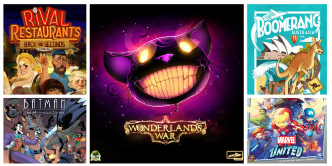 Kickstarter – Les jeux de société à surveiller pour la mi-février 2020