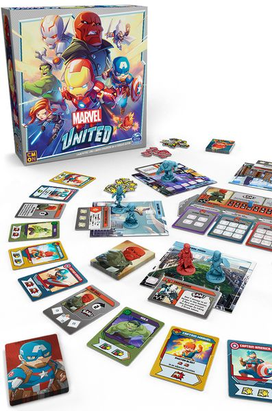 Jeu de société Marvel United