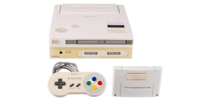 La fameuse console Nintendo PlayStation est aux enchères!
