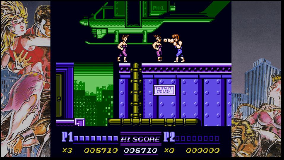 Double Dragon II The Revenge demeure le meilleur de la trilogie sortie sur la NES et offre un bon équilibre de défi et de plaisir. - Double Dragon & Kunio-Kun Retro Brawler Bundle