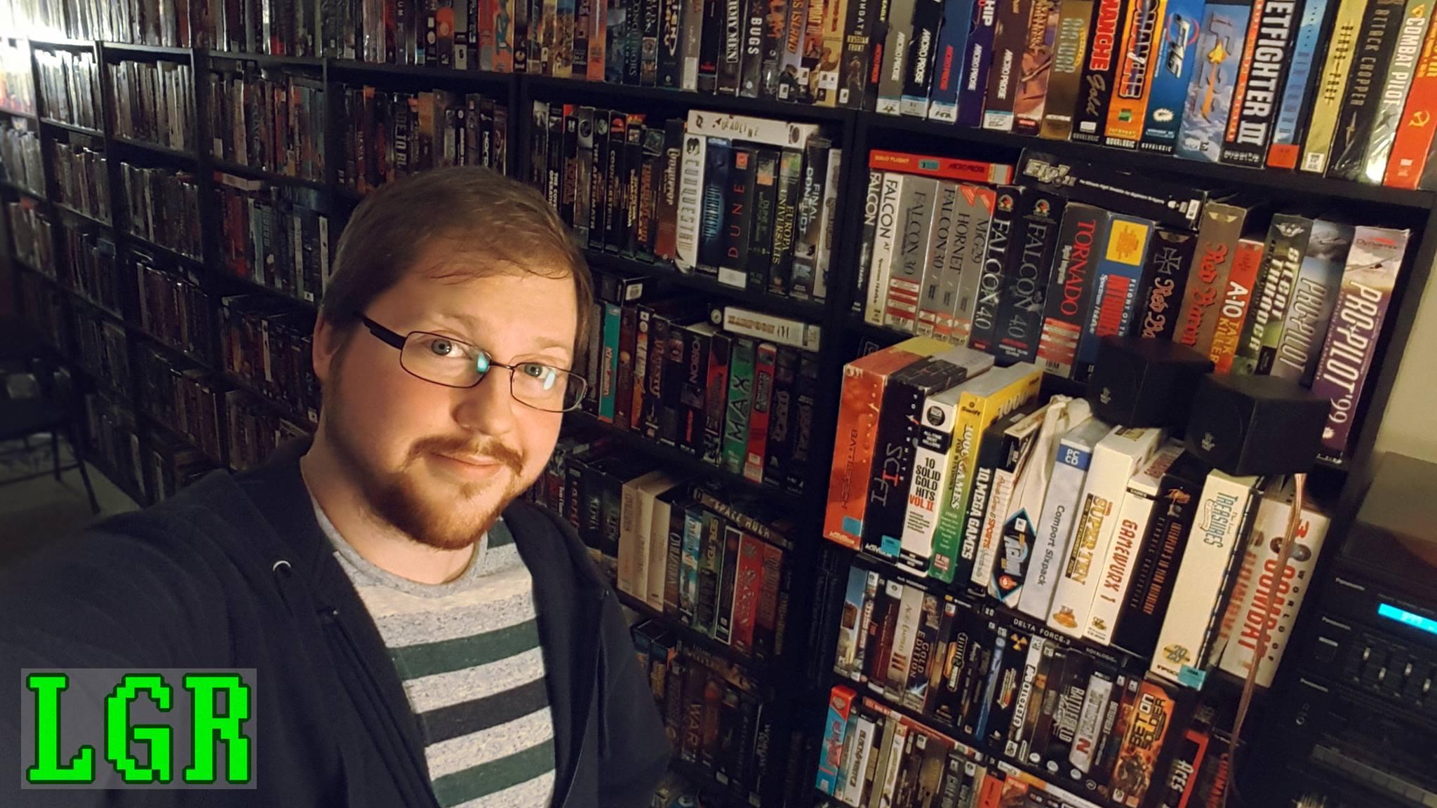 La collection de jeux PC que Clint a amassée au cours des années pourrait en rendre plusieurs jaloux