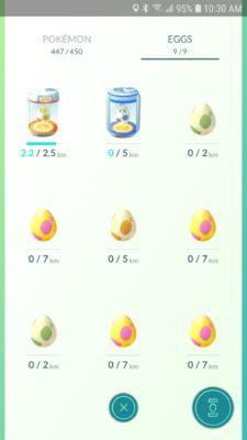 Oeuf Pokémon Go