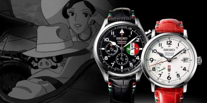 Les montres Seiko rendent hommage au film Porco Rosso