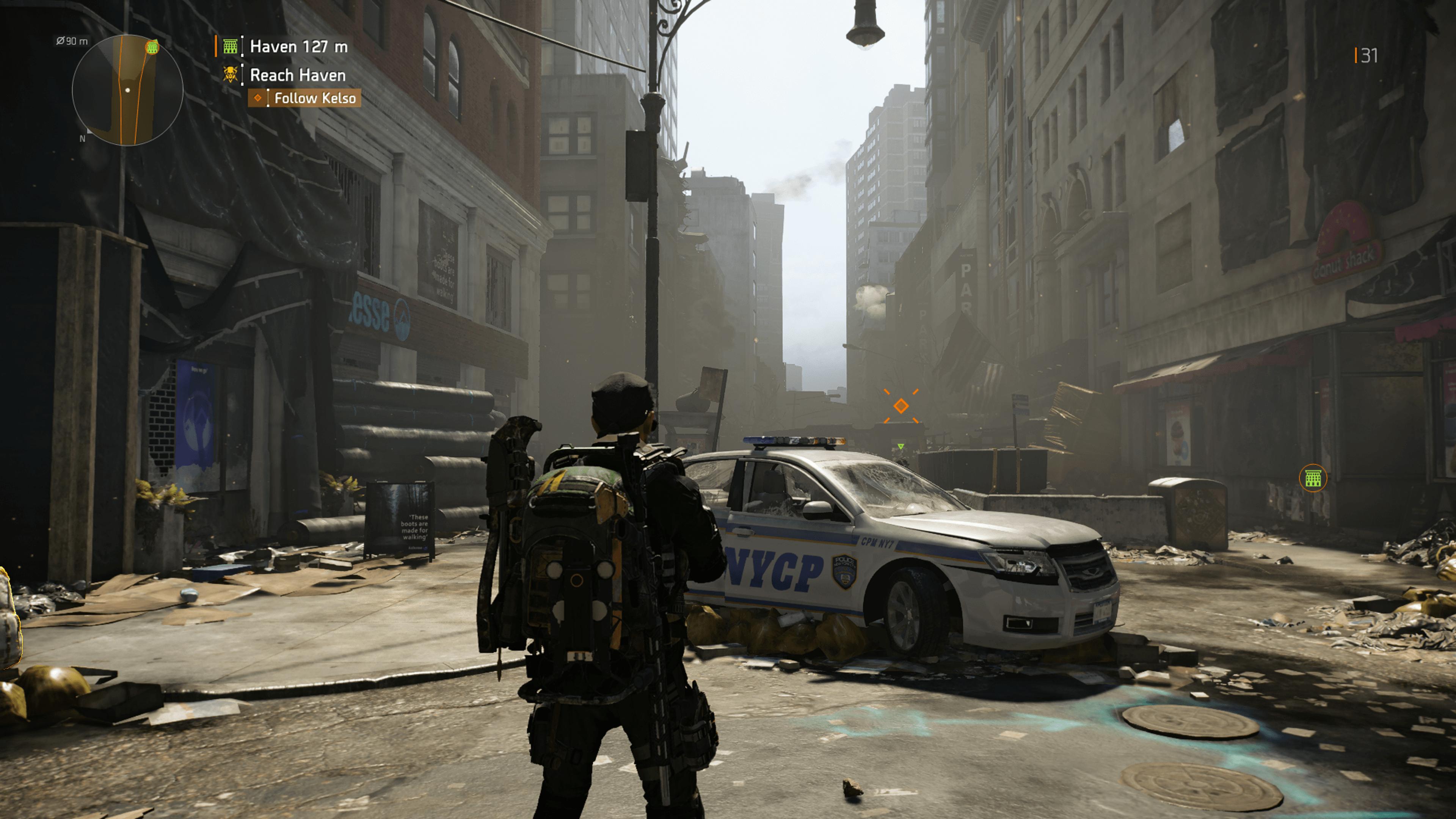 Les amateurs de la franchise seront heureux de retrouver les rues de New York, ville où se déroulait le premier titre