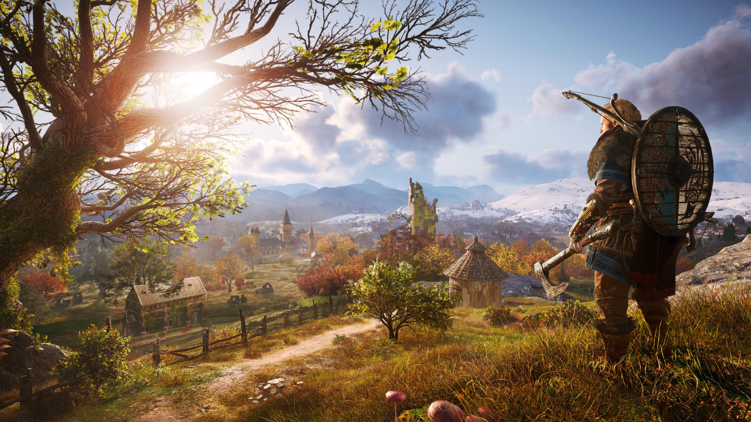 Une bonne partie du jeu tournera autour de la colonie que le clan d'Eivor souhaite établir sur les côtes anglaises